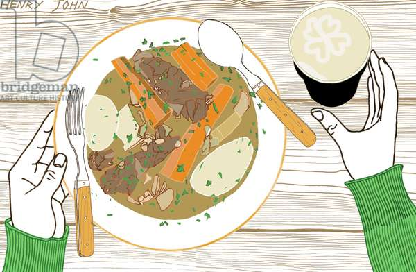 Irish Stew, 2008-09 (mixed media)