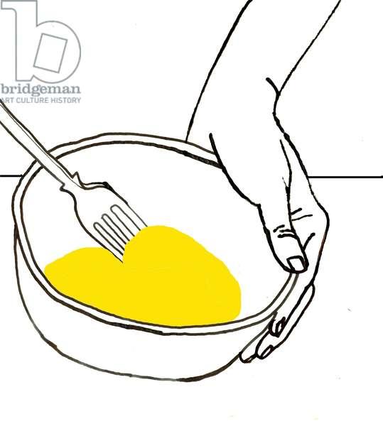 Egg Whisk, 2008-09 (mixed media)