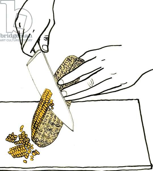 Corn, 2008-09 (mixed media)