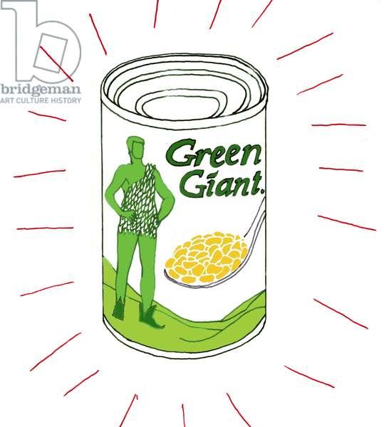 Green Giant, 2008-09 (mixed media)