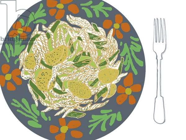 Pasta, 2008-09 (mixed media)