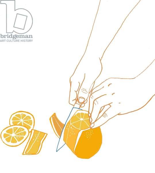 Orange, 2008-09 (mixed media)