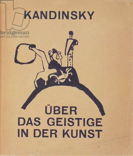 Titlepage of Kandinsky's 'Ueber das Geistige in der Kunst', 1912 (litho)