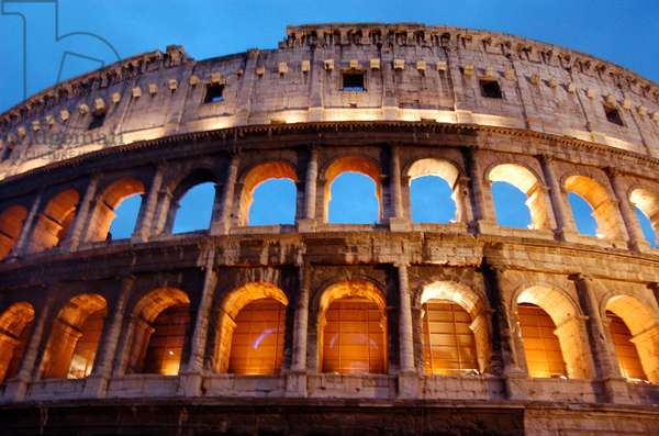 The Colosseum, Rome, Italy (photo)