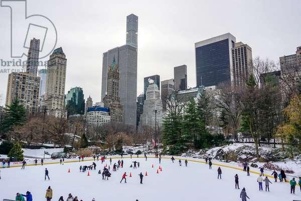 Wollman Rink, Central Park, Manhattan (photo)