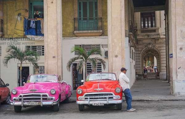 Chevrolets, Havana, Cuba (photo)