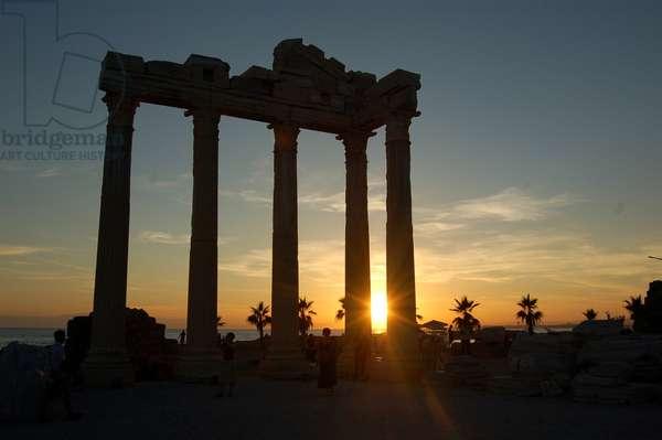 The Temple of Apollo, Side, Turkey (photo)