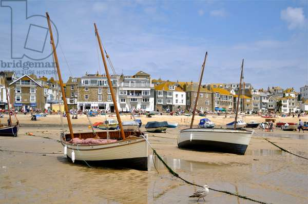 St. Ives Harbour, Cornwall (photo)