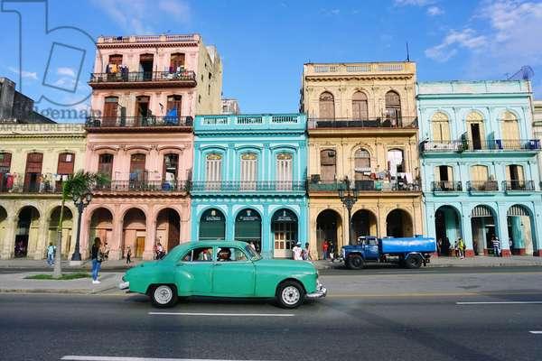 Paseo de Marti, Havana, Cuba (photo)