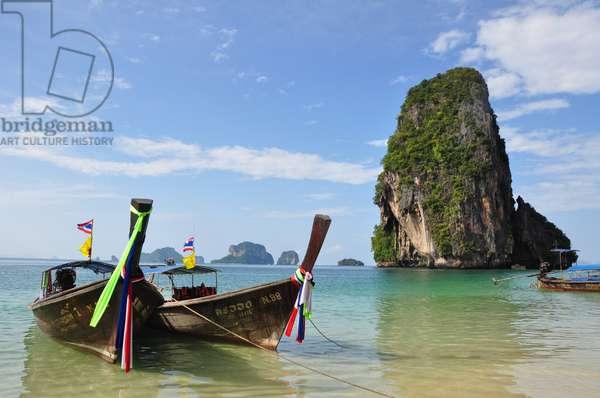 Phra Nang Beach, Krabi, Thailand (photo)