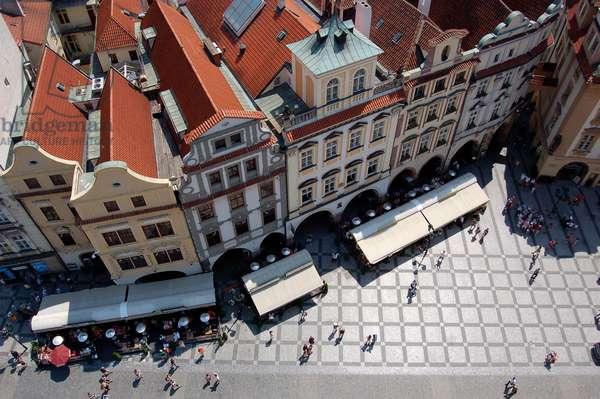 Old Town Square, Prague, Czech Republic (photo)
