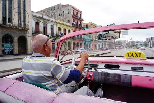 Taxi, Havana, Cuba (photo)