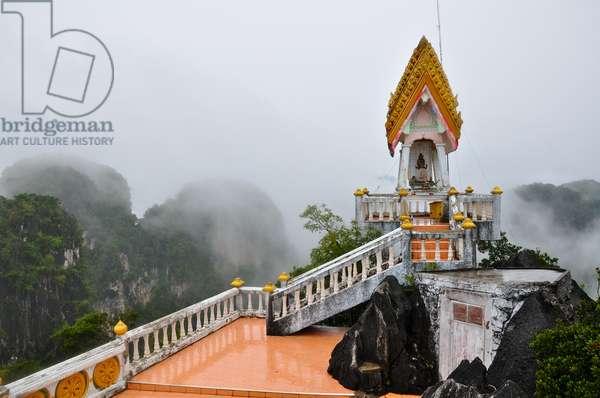 Tiger Cave Temple (Wat Tham Suea), Krabi, Thailand (photo)