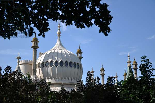 The Royal Pavilion, Brighton, UK (photo)
