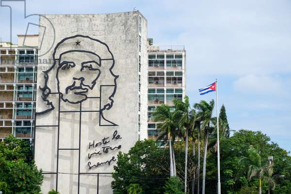 Che Guevara, Plaza de la Revolucion, Cuba (photo)