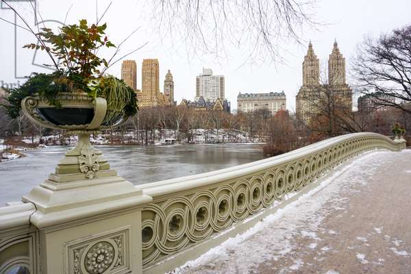 Bow Bridge, Central Park, Manhattan (photo)