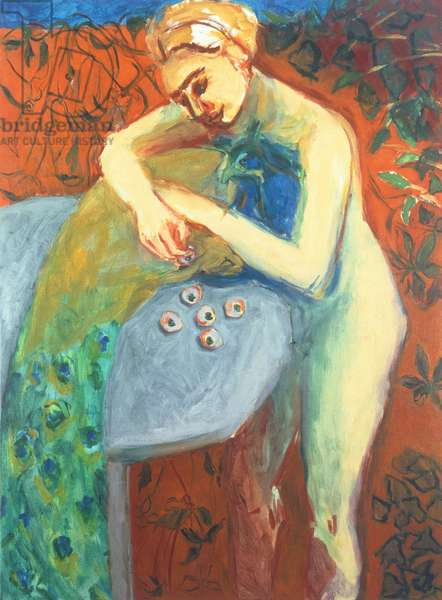 Juno, 1995 (oil on canvas)
