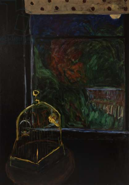 In the Night (oil on canvas)
