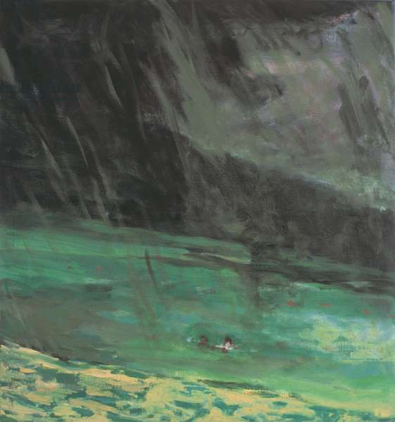Storm, Pomport (oil on canvas)