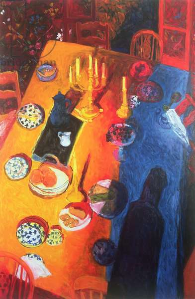 The Supper, 1996 (oil on canvas)