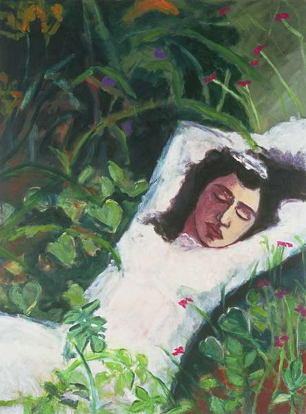 The Bride, 1995 (oil on canvas)