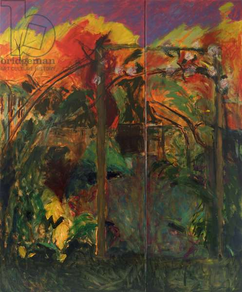 Autumn Garden, 2012-14, (oil on canvas)