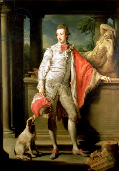 Thomas William Coke, (1752-1842) later 1st Earl of Leicester (of the Second Creation) 1774 (oil on canvas) (for 1st Earl of 1st Creation see 147993)