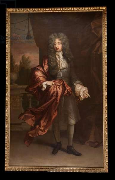 Portrait of Edward Coke, c.1690 (oil on canvas)