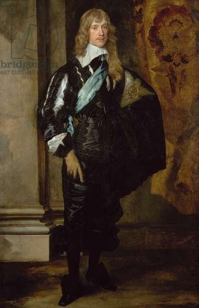 James Stuart (1612-55) 1st Duke of Richmond (oil on canvas)