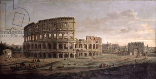 The Colosseum (oil on canvas)