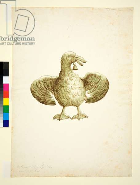Goose, 1700-1750 (pen and brown ink with brown and grey wash)