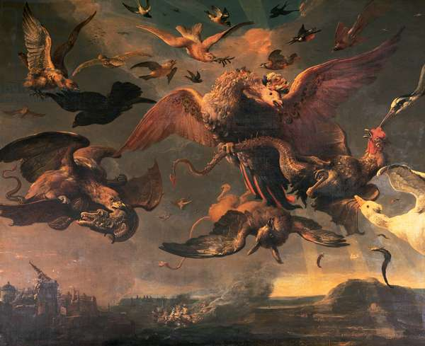 William III's Lowland Wars (oil on canvas) (see also 143659)