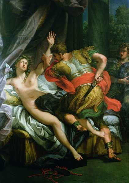 Tarquinius and Lucretia (oil on canvas)
