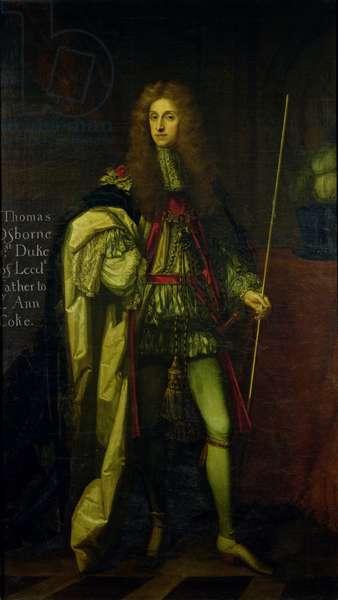 Portrait of Thomas Osborne, 1st Duke of Leeds (1631-1712) (oil on canvas)