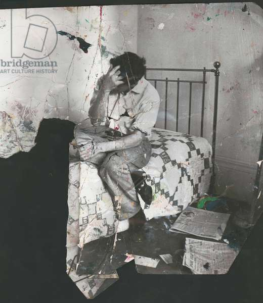 Lucian Freud, 1964 (b/w photo)