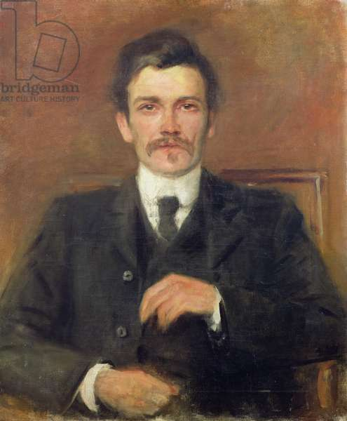 John Millington Synge, c.1905 (oil on canvas)