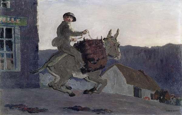 Empty Creels, 1913 (oil on panel)