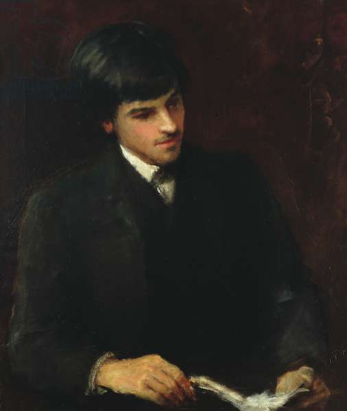 William Butler Yeats, 1886 (oil on canvas)