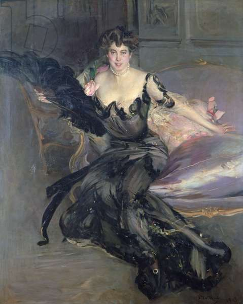 Portrait of a Lady: Mrs Lionel Phillips, 1903 (oil on canvas)