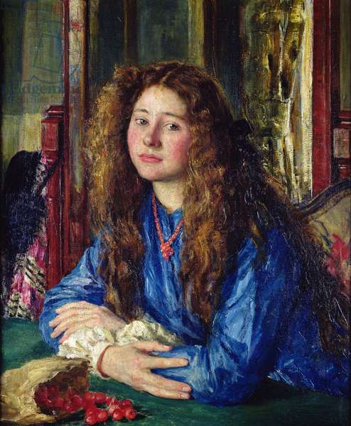 The Blue Girl, 1910 (oil on canvas)