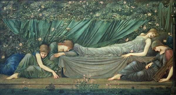 The Sleeping Princess, 1874 (oil on canvas)