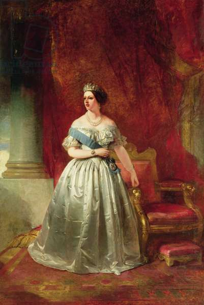 Queen Victoria, 1849 (oil on canvas)