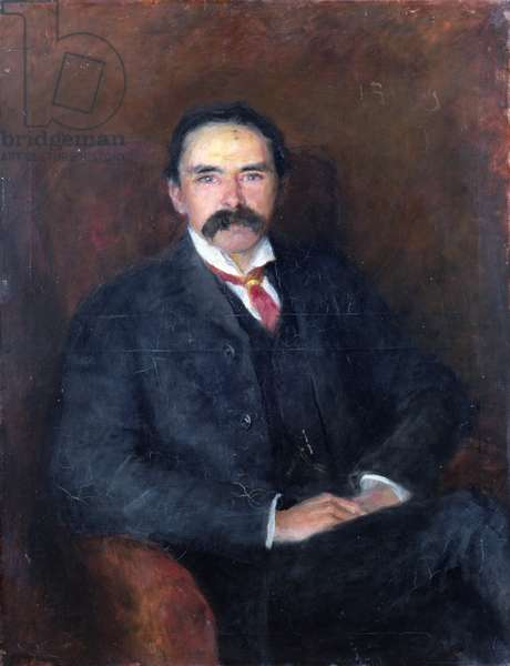 Dr Douglas Hyde, LLD (oil on canvas)