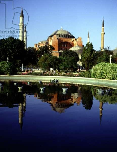 Hagia Sophia, Istanbul, Turkey. 537 AD