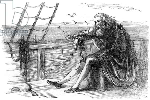 Columbus in Chains, 1877 (engraving)