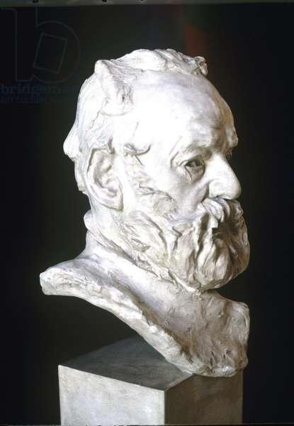 Victor Hugo, bust, 1802-85. by R. Rodin.