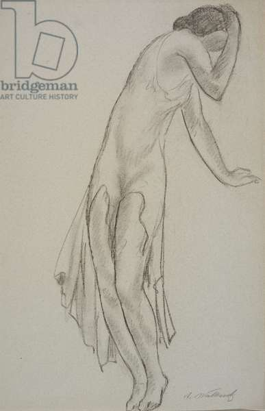 Isadora Duncan, c.1911 (pastel on paper)
