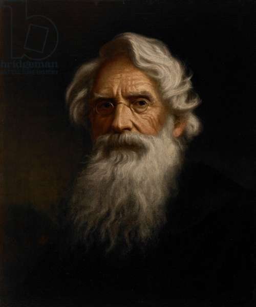 Portrait of Samuel F.B. Morse, c.1855 (oil on canvas)