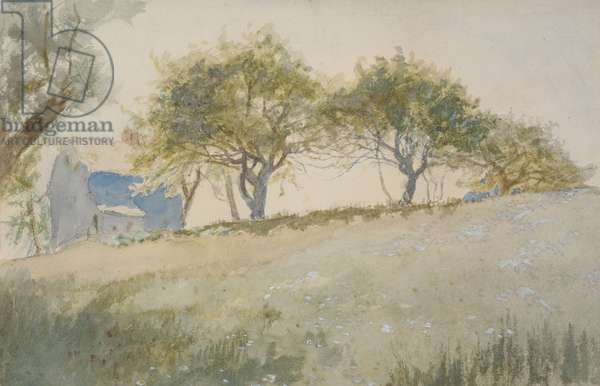 Near East Hampton, 1878 (w/c on paper)
