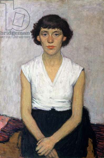 Portrait of a Girl, 1950 (oil on canvas)
